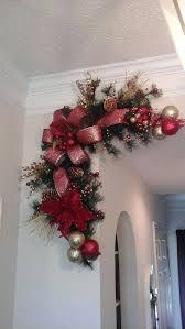 garland for fireplace mantel corner wreath garland swag fireplace mantel pre lit garland for fireplace mantel