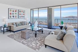 rug on carpet. Area Rug Over Carpet Living Room Contemporary With White Sofas On T