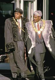coming to america is an amusing fairy tale review ny eddie murphy and arsenio hall in coming to america