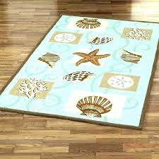 beach themed rugs coastal area thefencing info with designs 13