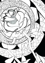Disney Beauty And The Beast Coloring Pages Contentparkco