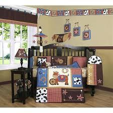 cowboy crib bedding western cowboy horse piece crib bedding set cowboy crib bedding target