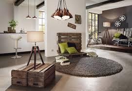 Tafellamp Landelijke Industrieel Houten Stoffen Taupe Bruine