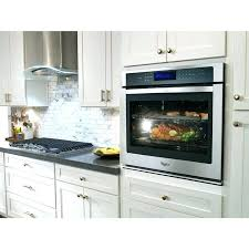 27 electric wall oven whirlpool electric wall oven whirlpool 5 cu ft total capacity electric single