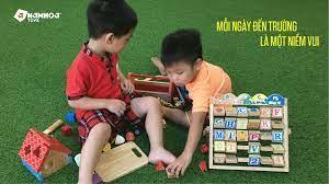 Đồ chơi gỗ Nam Hoa Trong Hoạt Động Trải Nghiệm Tại Trường Mầm Non