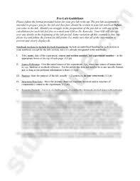 Example Of A Lab Report Prelab Format Ohye Mcpgroup Co