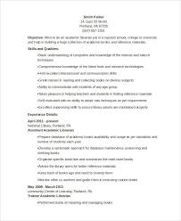 40 Librarian Resume Templates Free Sample Example Format Download Best Assistant Librarian Resume