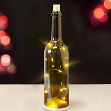 Decorative Wine Bottles With Lights Lighted Wine Bottles Amazon 13