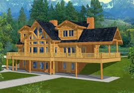 image of lake house floor plans with walkout basement 6 bedroom