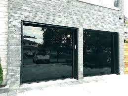 glass garage door cost new panel doors revit gar