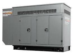 Generac Industrial Power 35 Kw Gaseous Generator Generac