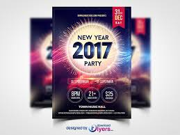 free flayers new year 2017 party flyer template free psd download download psd
