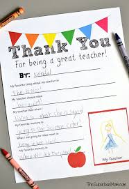 a sentimental way to say thank you teacher free printable makes it easy to create a cl teacher gift for teacher appreciation week or end of year