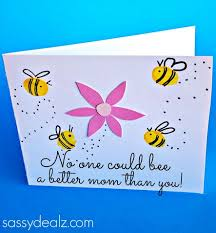 Mother Day Card Fingerprint Flower Mothers Day Card Crafty Morning