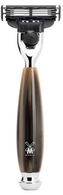 Muehle <b>Бритва Смола</b>, <b>цвет рога</b> Intro Vivo Gillette Mach3