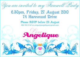 Invitation Cards For Farewell Party Lovely Farewell Party Invitation Wording And Invitation Cards