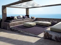 outdoor paola lenti ambiance beach style patio