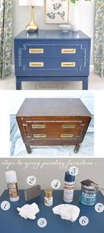 diy spray painting furniture full step by step tutorial with lots of