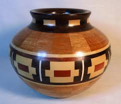 amazing decorative wooden bowl hand crafted segmented with southwestern decor by custom made rustic uk australium