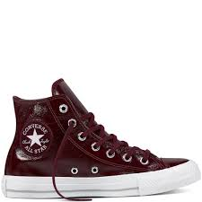 converse chuck taylor all star crinkled patent leather 479onhej dark womens sneakers