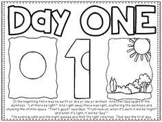 Nice Looking Days Of Creation Coloring Pages Luxury 6 7 For Kids