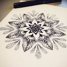 Mandala Tattoo Moje Tetování Tetování Mandaly A Skici Tetování