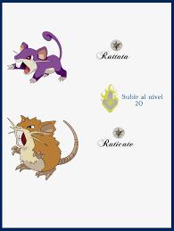 Rattata Evolution Chart Rattata Evolution Chart 46732 Lineblog