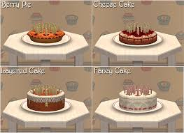 Secret Scuba Gifts Part I Birthday Cakes Nixed Sims