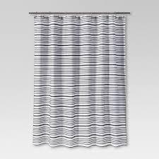 Image White Striped Target Multi Stripe Shower Curtain Black Threshold