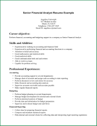 Financial Analyst Resume Examples 24 Financial Analyst Resume Applicationsformat 24