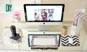 Diy office decorations Decorate Office Desk Youtube Diy Desk Decor Cute Affordable Youtube