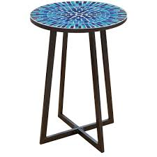 mosaic outdoor table pier 1