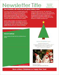 Powerpoint Family Holiday Newsletter Template Hiyaablog Com