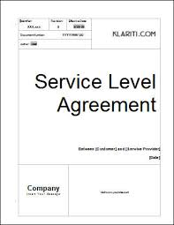 help desk service level agreement template service level agreement template software software templates