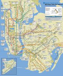 download subway map new york city  major tourist attractions maps