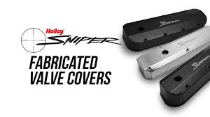 Holley Sniper Fabricated Valve Covers - YouTube