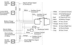electric trailer brake parts diagram electric trailer brake wiring and parts diagrams