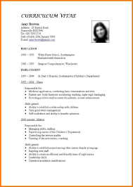 sample cv format for nurses professional resume cover letter sample