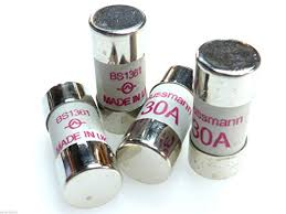 4x 30 amp fuse bs1361 30a cartridge fuses socket cooker small house fuses types at Fuse Box Fuses