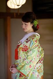 前髪ありヘアと相性抜群な色打掛をご紹介 京都タガヤ和婚礼