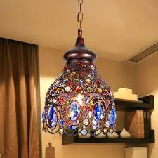 colored crystal chandelier top rated southeast style small chandelier colored crystal chandeliers bohemian restaurant decoration in