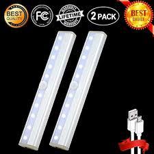How To Make Led Lights Stick Details About Homelife Undercabinet Lights Motion Sensor Magnetic Led Lights For Closet Stick