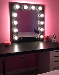 vanity mirror lighting. How To Build A Vanity Mirror With Lights Medium Size Of Impressions Dupe . Lighting