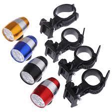 1Pc 6 LED <b>Bike</b> Front Head <b>Light Aluminium Alloy</b> Mini <b>Cycling</b> ...