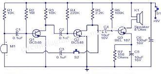 simple intercom circuit diagram simple image simple intercom circuit transistor circuit diagram world on simple intercom circuit diagram