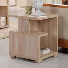 walnut side tables side table sonoma oak