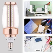 e12 candelabra led light bulbs vcrlight v1791 2018 new design 6w super bright daylight white 3000k 60w equivalent led chandelier bulbs candelabra base