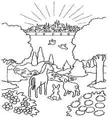 Small Picture Heaven Coloring Pages exprimartdesigncom