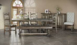 rustic dining room chairs. Delighful Chairs Marquez Rustic Dining Room Set With Solid Wood Chairs  To