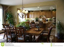 Dining Room And Kitchen Beautiful Kitchen And Dining Room Royalty Free Stock Photography